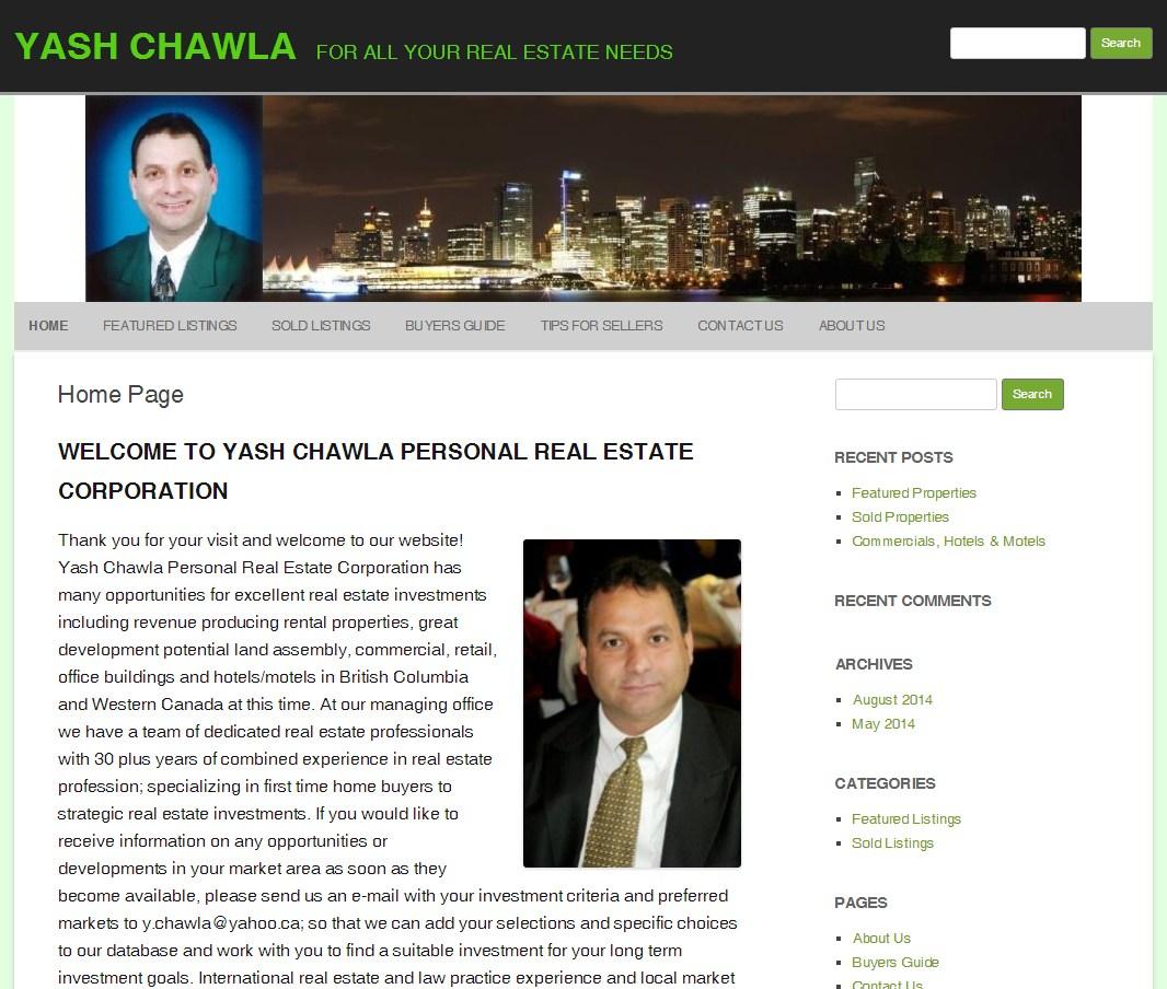 Realtor Yash Chawla