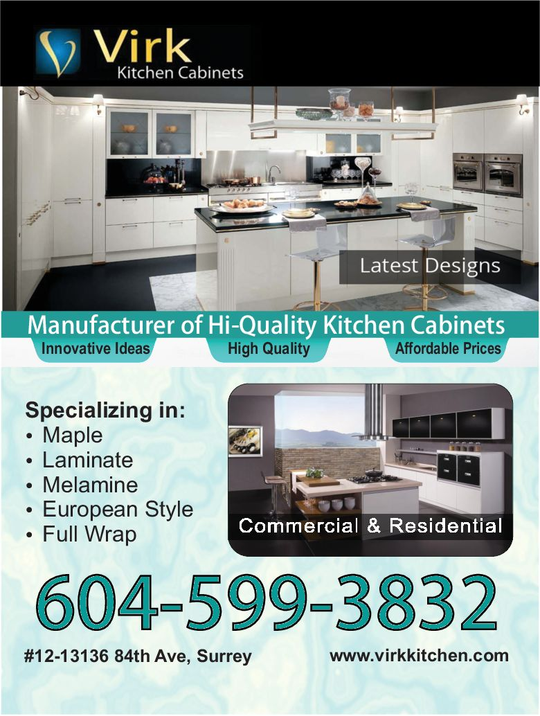 Virk Kitchen Cabinets - SEO & Web Design Services, Surrey BC, Delta ...