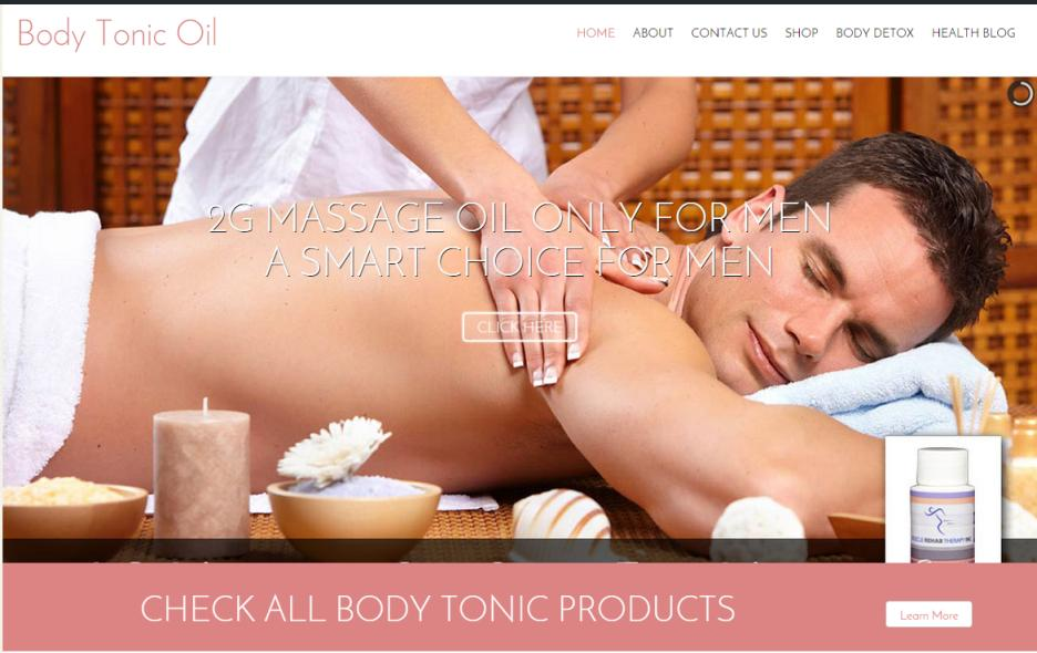 Body Tonic Oil
