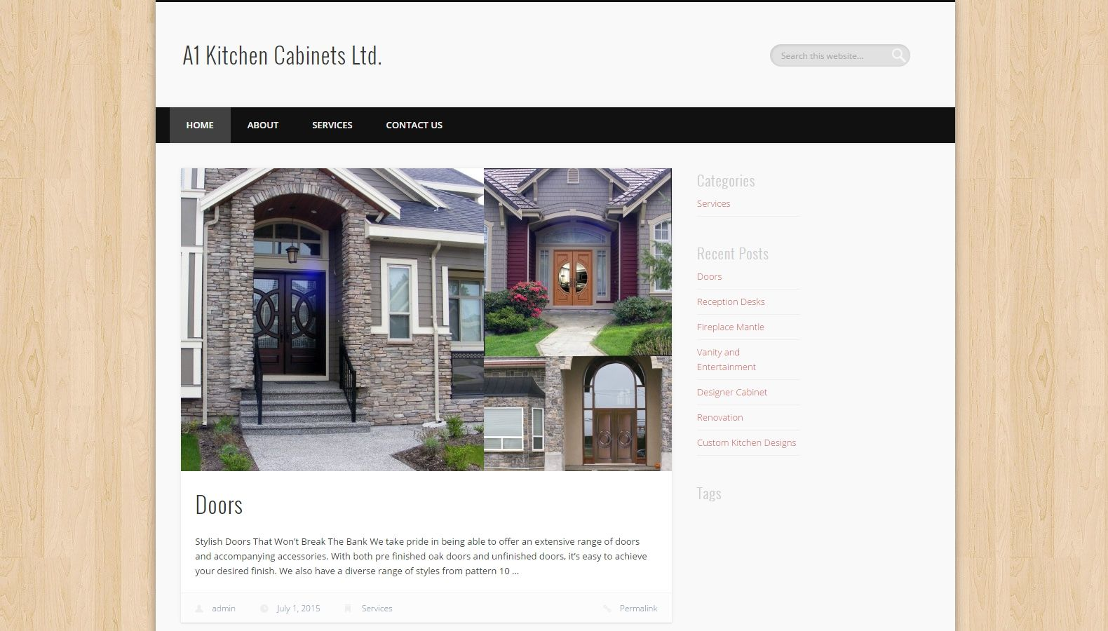 a1 kitchen cabinets ltd seo web design services