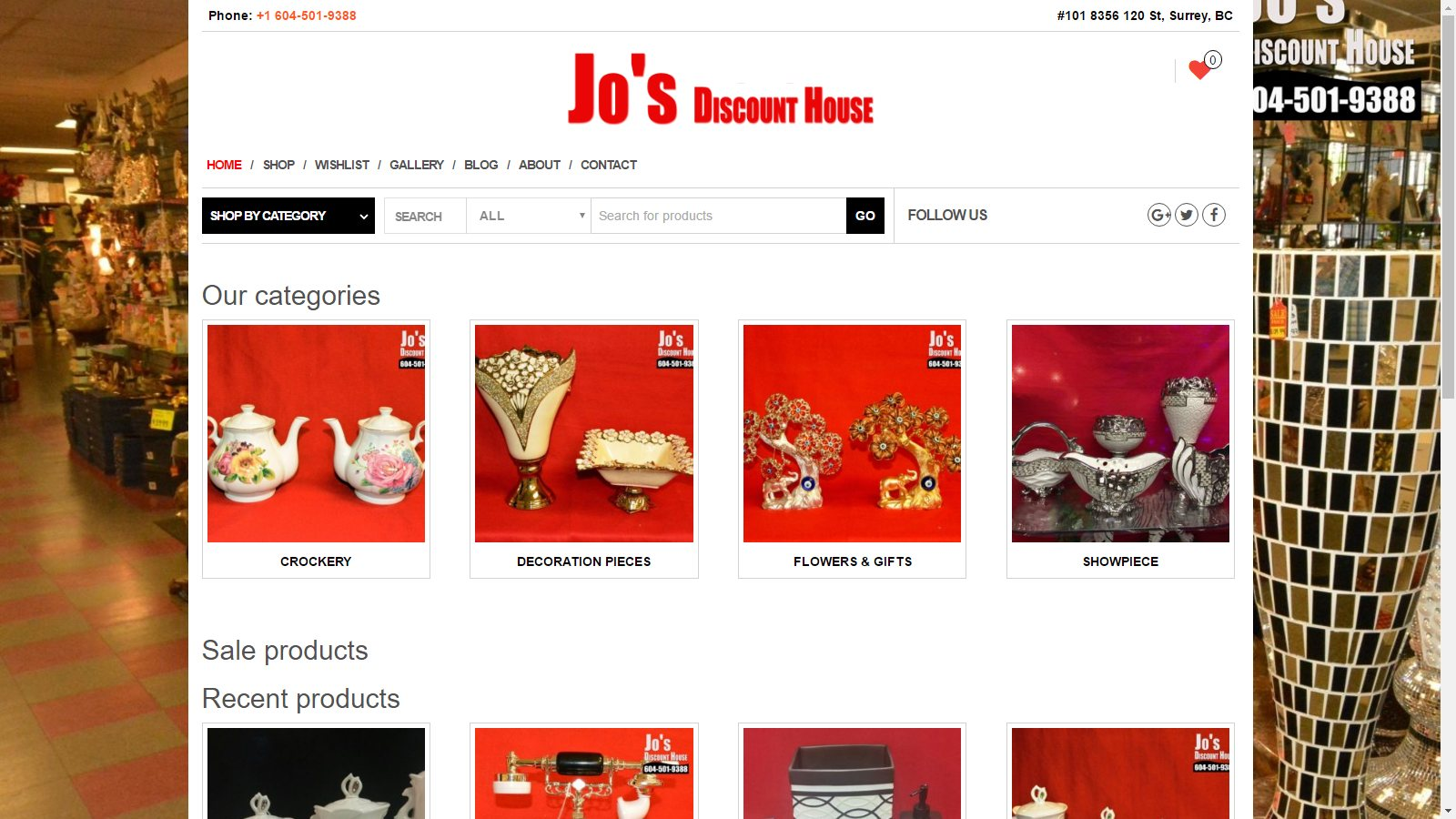 JO'S DISCOUNT HOUSE