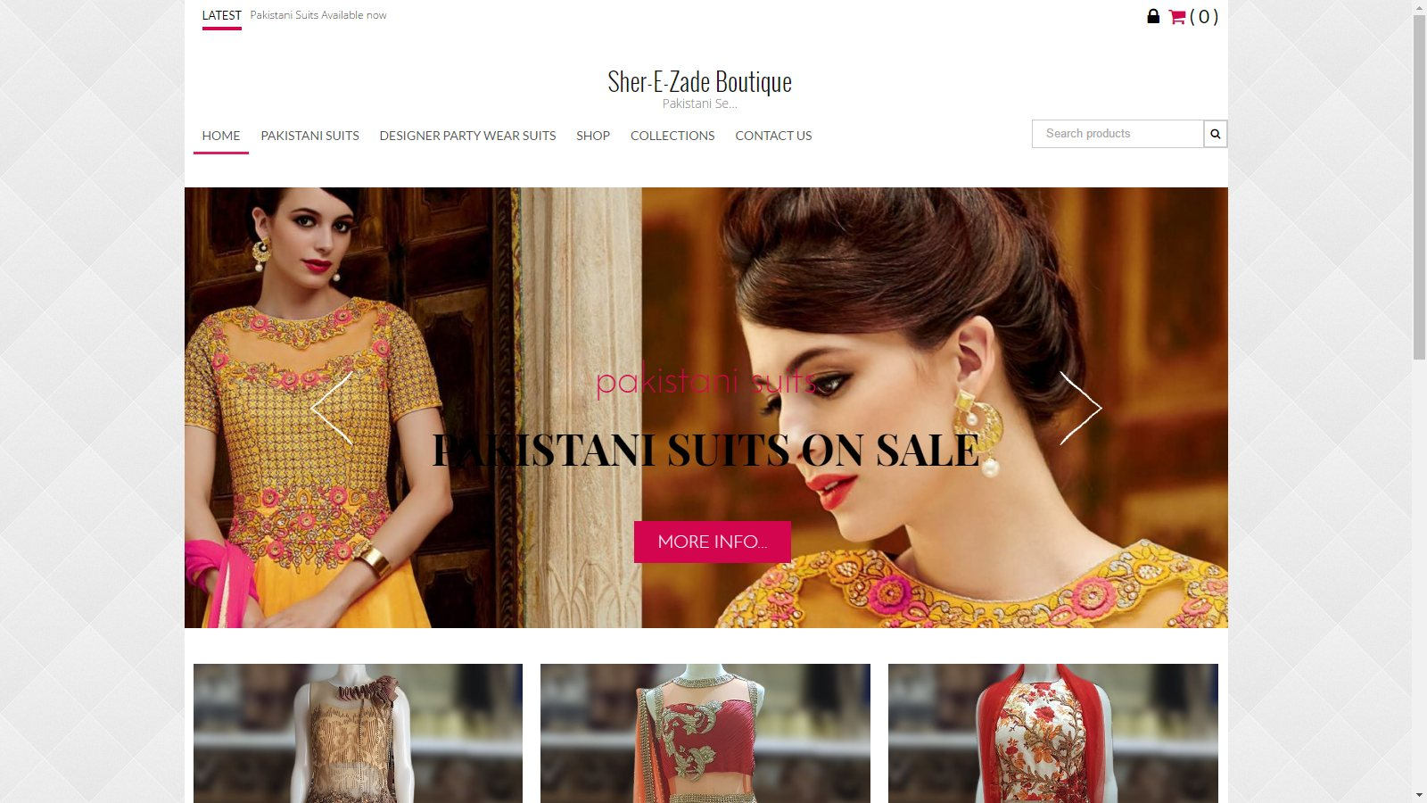 SHER-E-ZADE BOUTIQUE