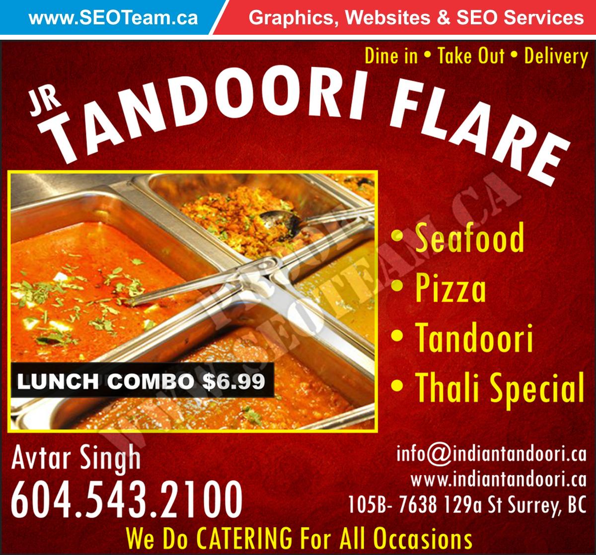 Tandoori Flare – Design By SEOTeam.ca