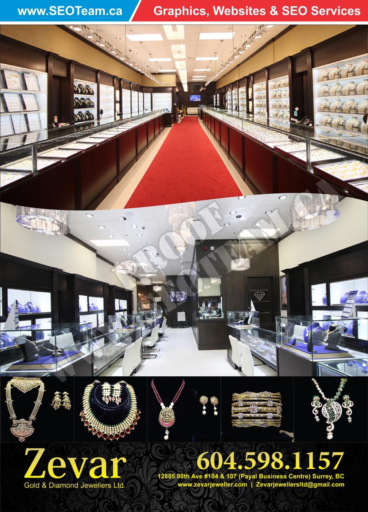 Zevar Jewellars - Design By SEOTeam.ca