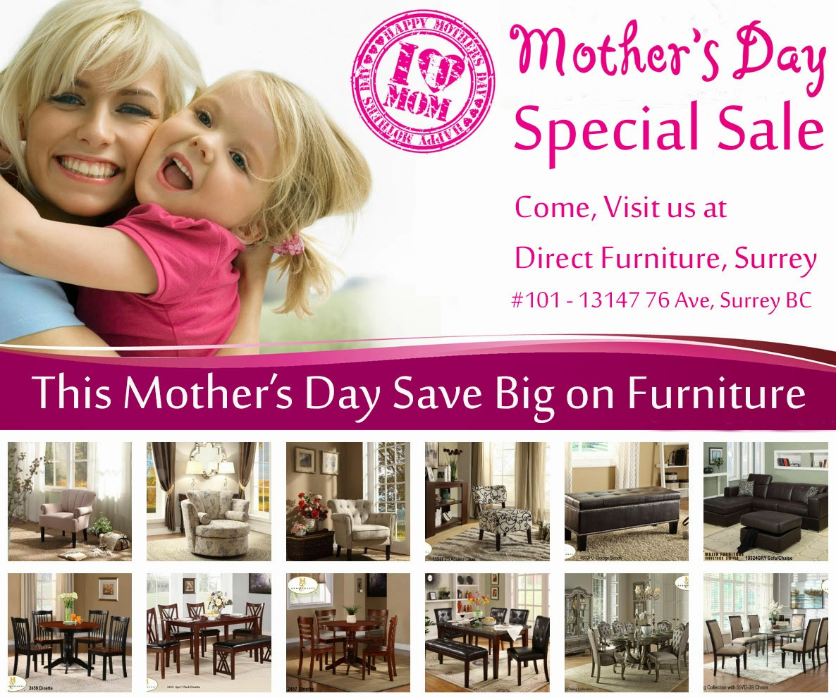 Direct Furniture - Mothers Day Special Sale - Design By SEOTeam.ca