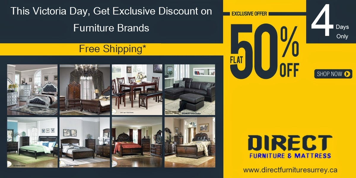 Direct Furniture Long Weekend Sale - Design By SEOTeam.ca
