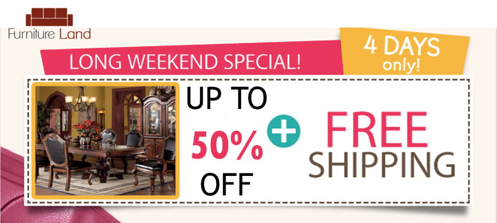 Furniture Land - Long Weekend Sale  - Design By SEOTeam.ca