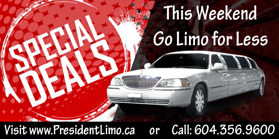 President Limo – Long Weekend Special Deals  – Design By SEOTeam.ca