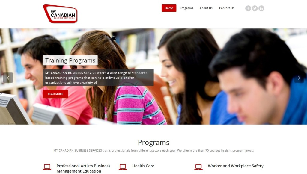 My Canadian Business Services – Website Designing by SEOTeam.ca