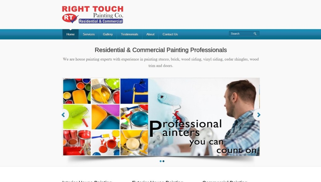 Right Touch Painting – Website Designing by SEOTeam.ca