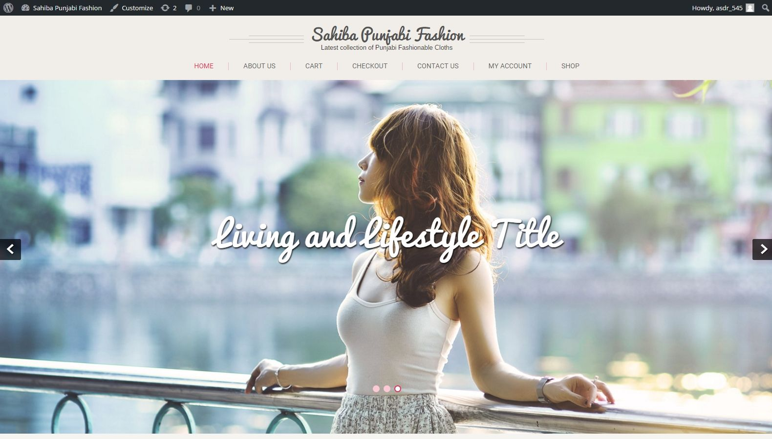 Sahiba Punjabi Fashion - Website Designing By SEOTeam.ca