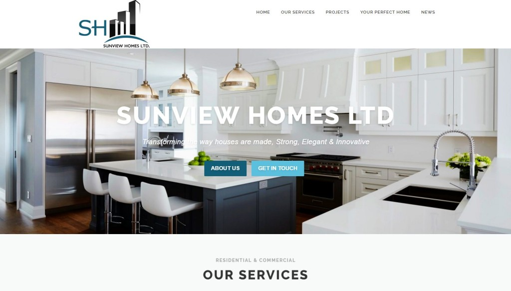 Sunview Homes Ltd – Website Designing by SEOTeam.ca