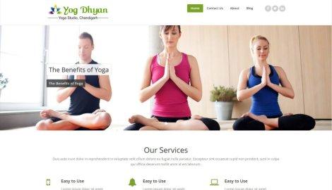 Yogdhyan – Website Designing by SEOTeam.ca