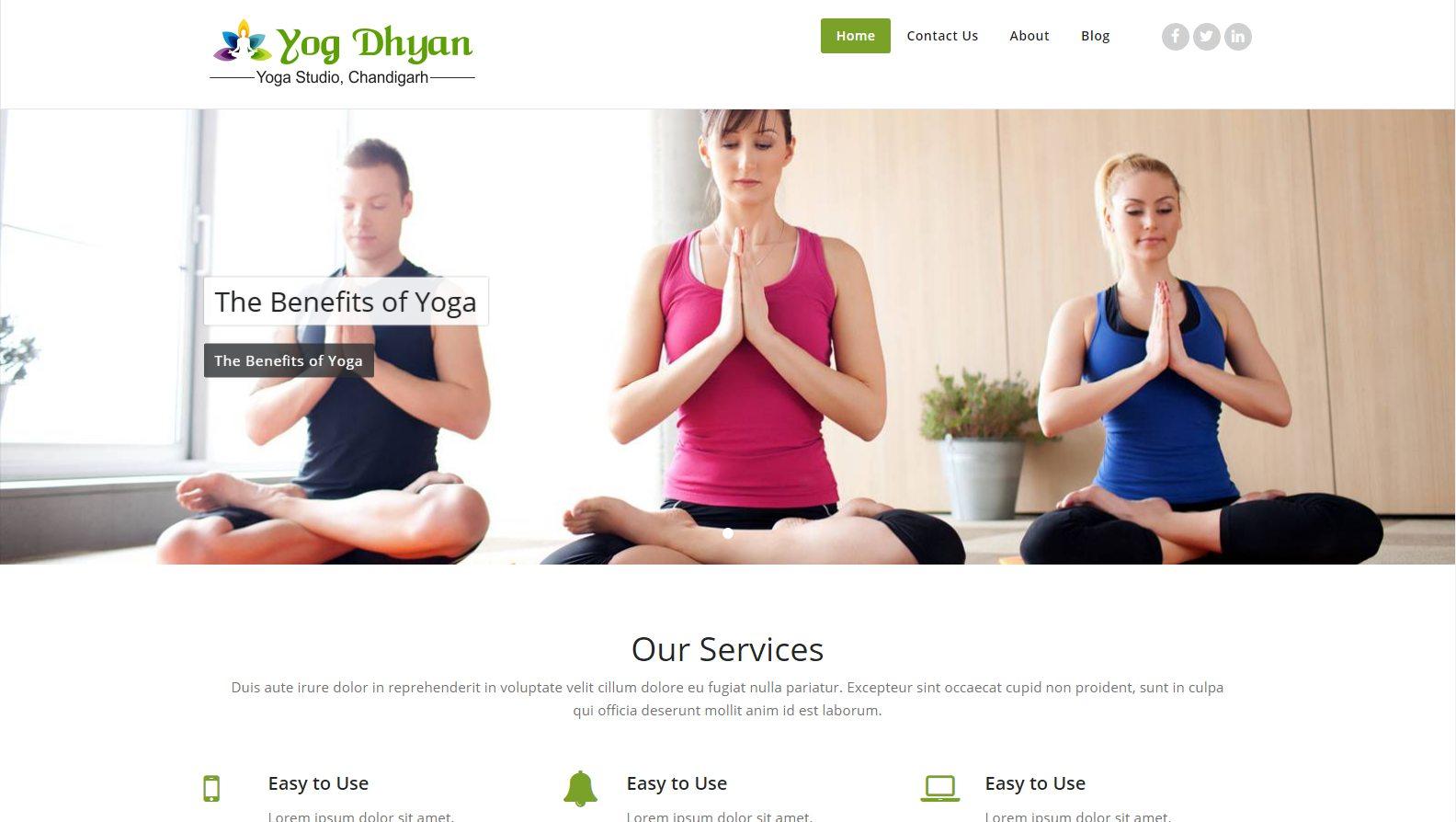 Yogdhyan - Website Designing By SEOTeam.ca