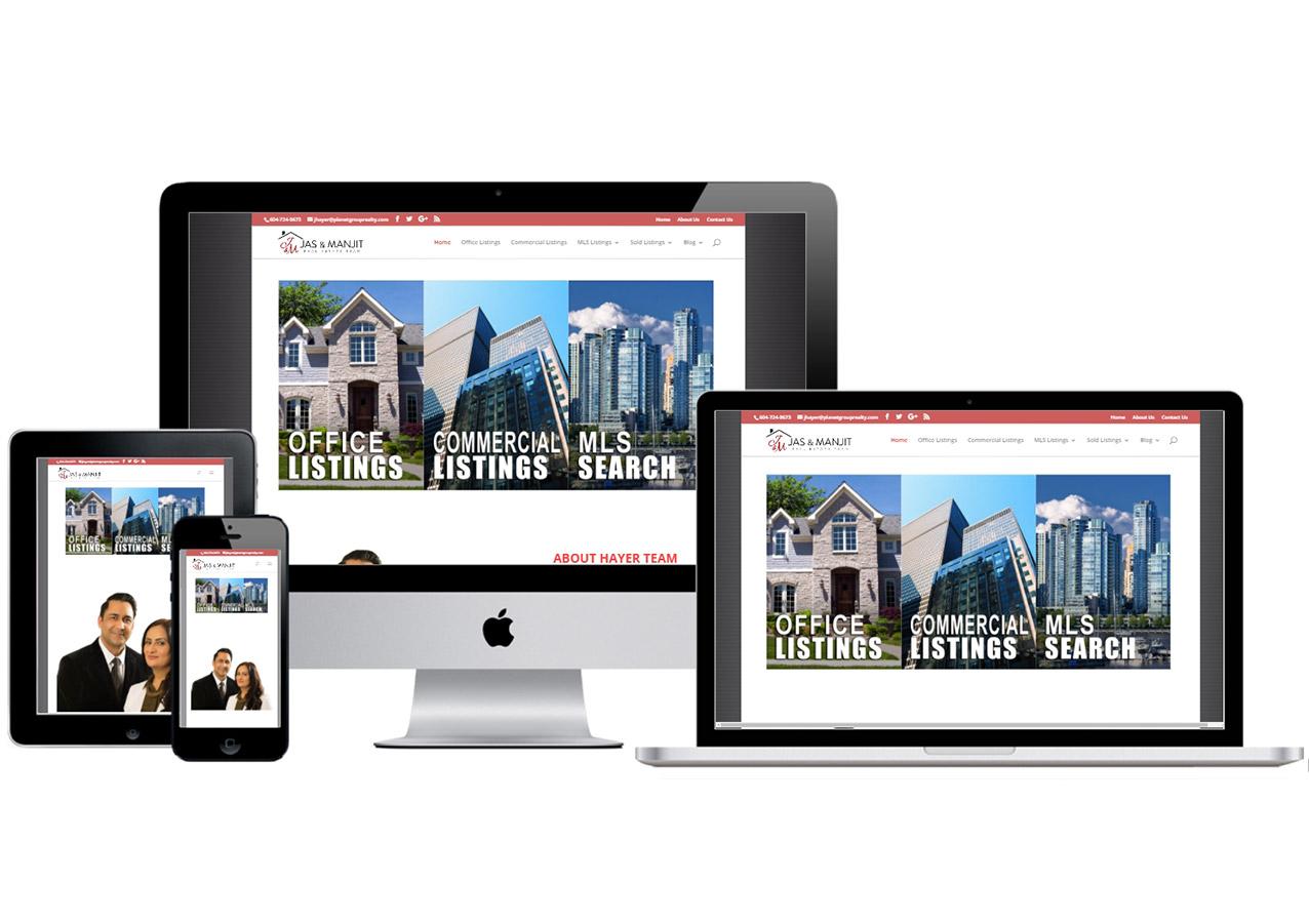 Jas and Manjit Hayer  – Website Design