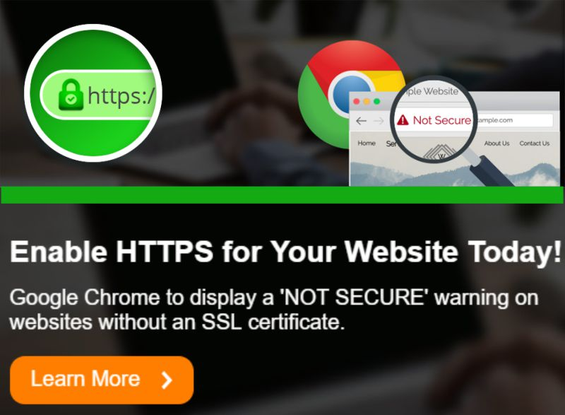 Enable HTTPS for your website today!