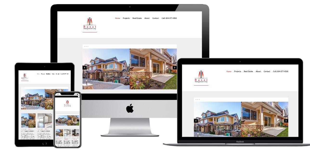 Real Estate Website Design – bassimanagement.com
