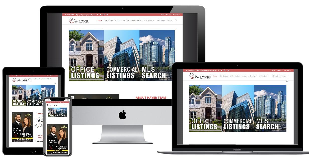 Real Estate Website Design – hayerteam.com