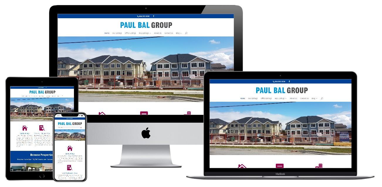 Real Estate Website Design – paulbalgroup.com