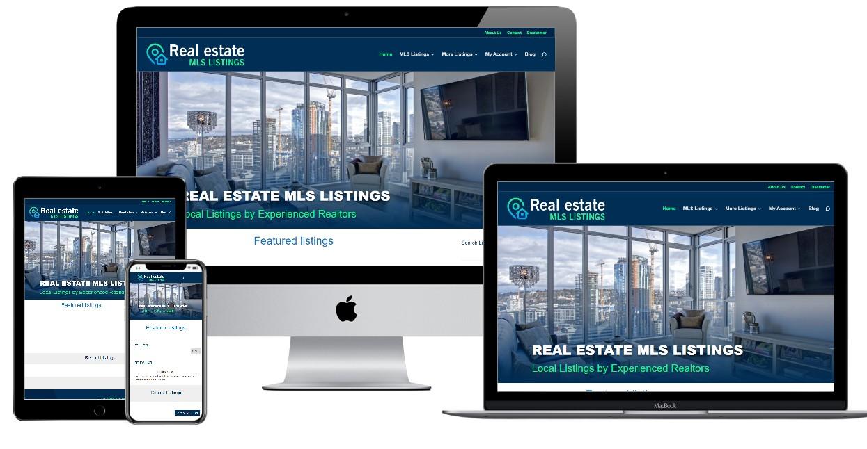 Real Estate Website Design – realestatemlslistings.com