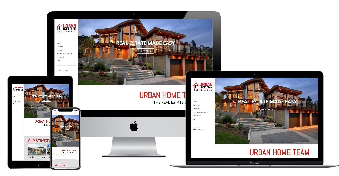 Real Estate Website Design – urbanhometeam.ca