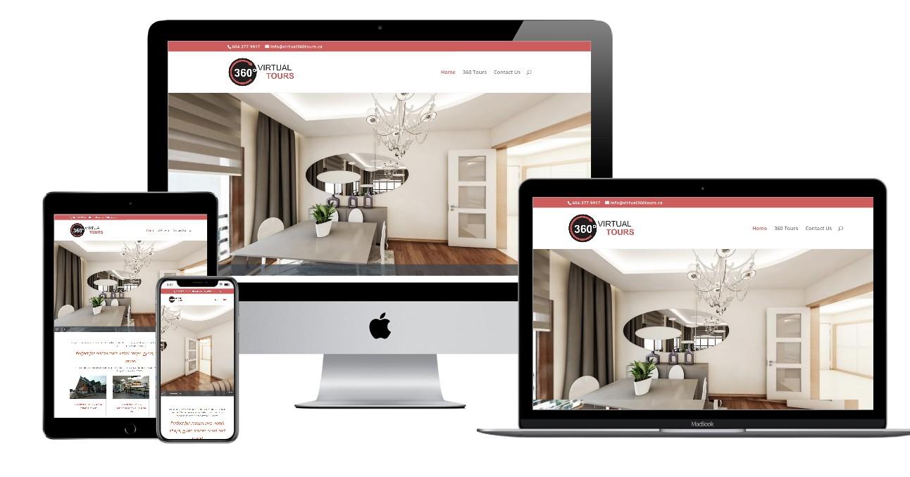 Virtual Tours Website Design – virtual360tours.ca