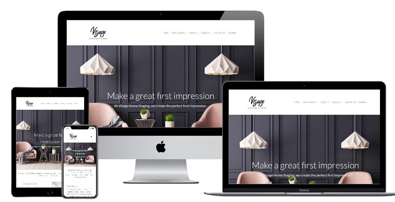 Home Staging Website Design – visagestaging.com